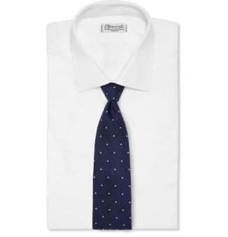 Drake's Polka-Dot Tie From MrPorter.com