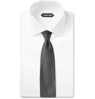 TOM FORD Checked Tie from MrPorter.com