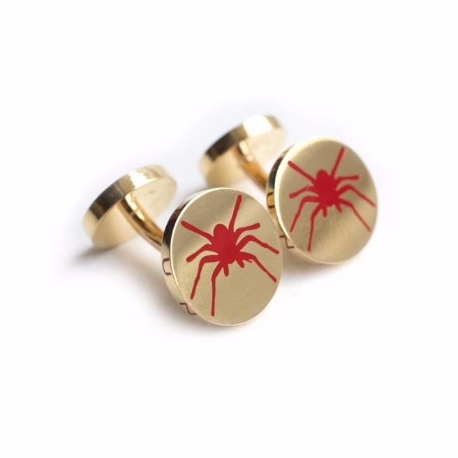18 Carat Gold Cufflinks Created By James De Givenchy £3,500